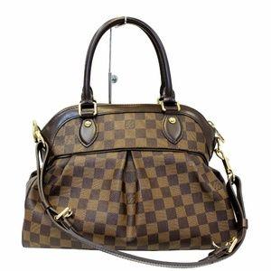 LOUIS VUITTON Trevi PM Damier Ebene Shoulder Bag